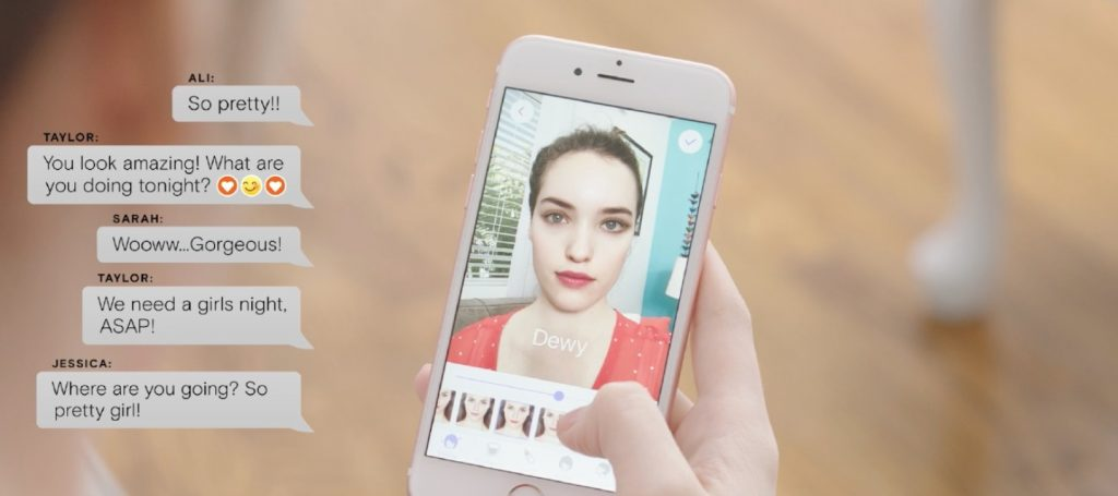 Makeup Plus allows brands to see their customers' preferences