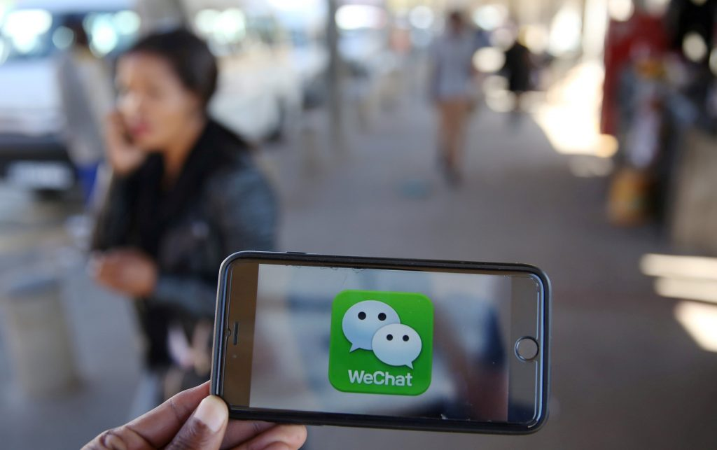 WeChat, an instant messenger or a digital hub? (Credit: WSJ)